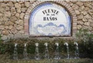 Fuente de los baños
