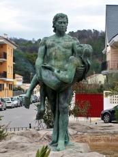 estatua salto de la novia