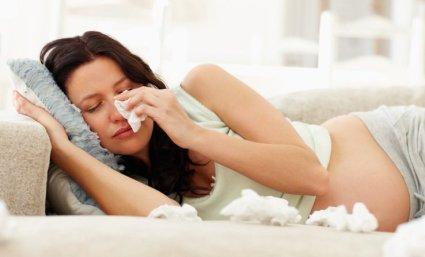 resfriado embarazo